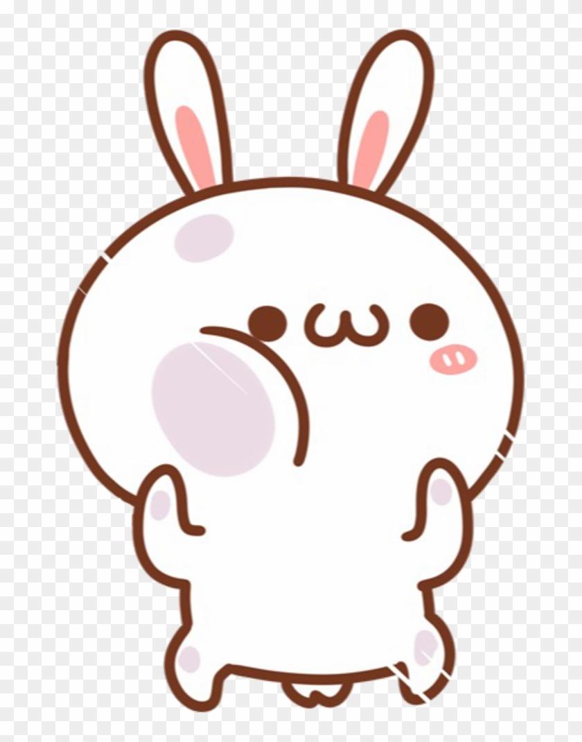Png Cute : Kawaii, #cute, #bunny, #white, #rabbit, #cartoon, #chibi, Cartoon, Transparent, 1024x1040(#1965276), PngFind