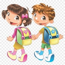 Clipart Child School Student Cartoon School Student Png Transparent Png 2362x3543 #2225626 PngFind