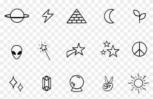 stars star simple planet space planets galaxy drawings easy clipart stickers pngfind related vector