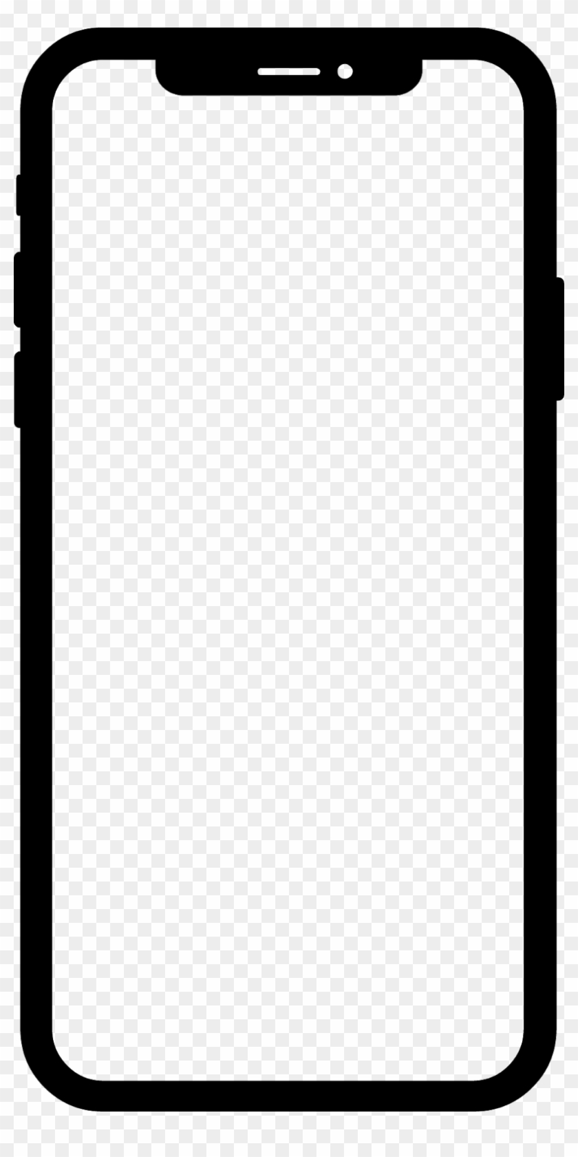 Iphone X Mockup Png : iphone, mockup, Iphone, Template, Transparent, 813x1600(#2340118), PngFind