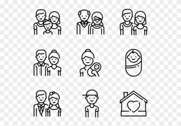 Family Food Icons Png Transparent Png 600x564 #261884 PngFind