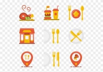 Restaurant Elements Food Icon Png Berwarna Transparent Png 600x564 #2899134 PngFind