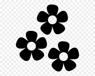 Flowers Icon Clip Art At Clker Vector Flower Icon Png Transparent Png 558x596 #315223 PngFind