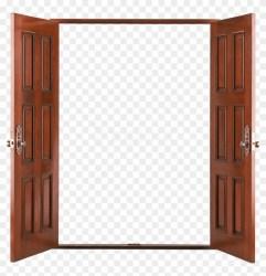 Free Png Download Open Wooden Door Png Images Background Wooden Open Double Door Transparent Png 850x840 #3269214 PngFind