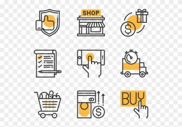 Shopping And Retail Free Icons Png Shop Icon Banner Operating System Icon Png Transparent Png 600x564 #3401533 PngFind