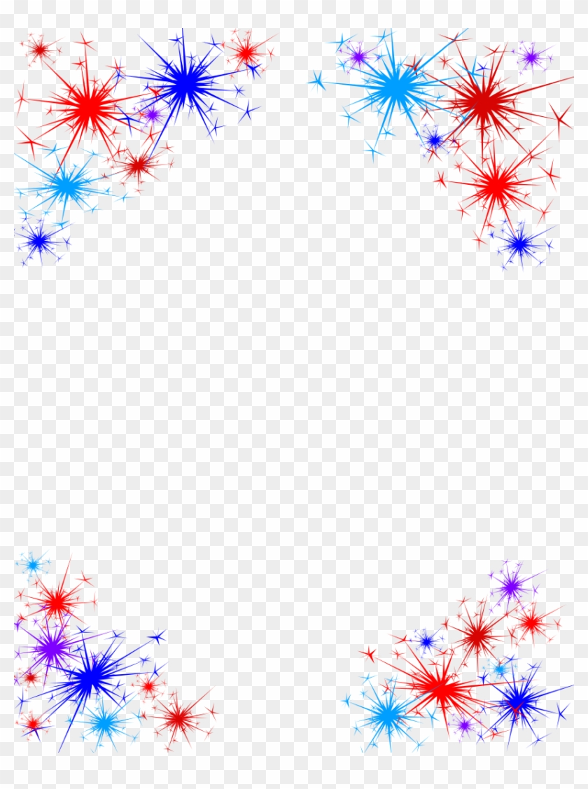 Fireworks Transparency : fireworks, transparency, Fireworks, #frame, #border, #accent, #overlay, #patriotic, Transparent, Background, Clipart,, Download, 850x1100(#3436591), PngFind