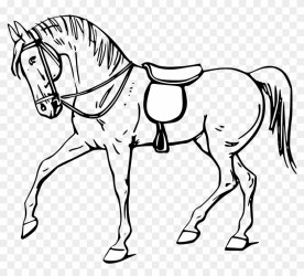 Quarter Horse Head Clip Art Free Clipart Images Horse Black And White Clip Art HD Png Download 1979x1693 #358458 PngFind