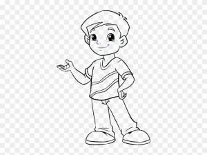 boy easy cartoon draw drawing poor kid pngfind pinpng