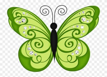 Butterfly Clip Art Butterfly Wallpaper Butterfly Transparent Background Green Butterfly Clipart HD Png Download 730x530 #5053088 PngFind