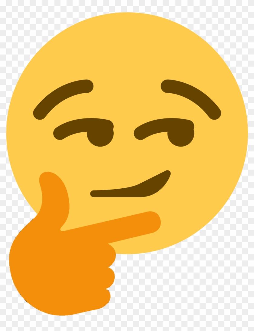 Thinking Emoji Glowing Eyes : thinking, emoji, glowing, Smirthinking, Thinking, Smirk, Emoji, Transparent, 1354x1686(#985802), PngFind