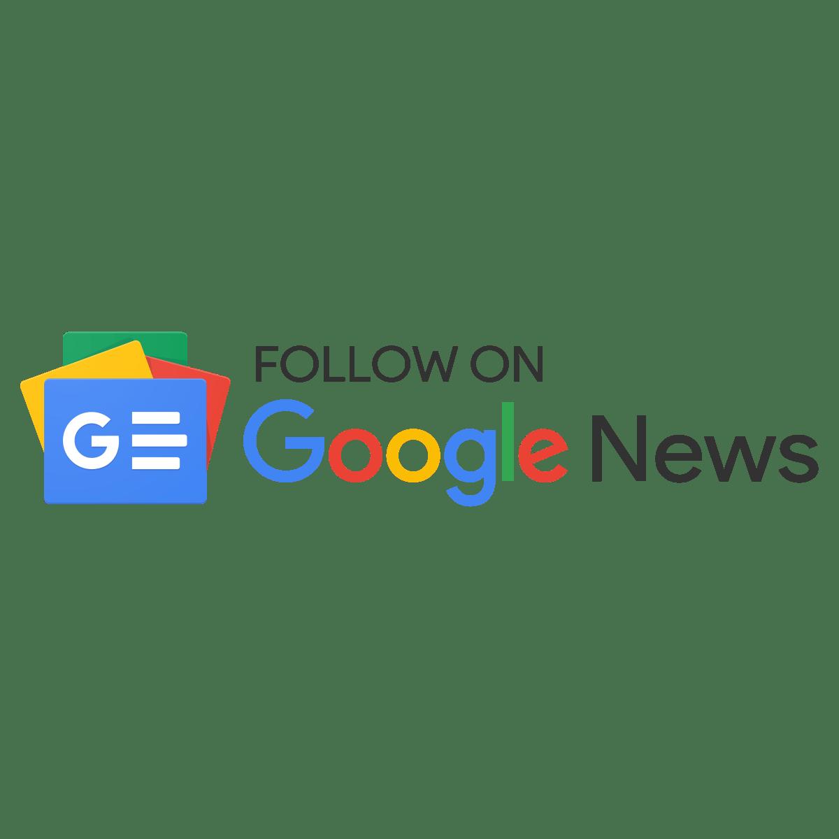 Follow on Google News Transparent Clipart