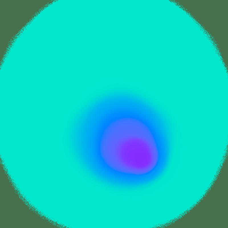 Gradient Blur Neon Transparent Image