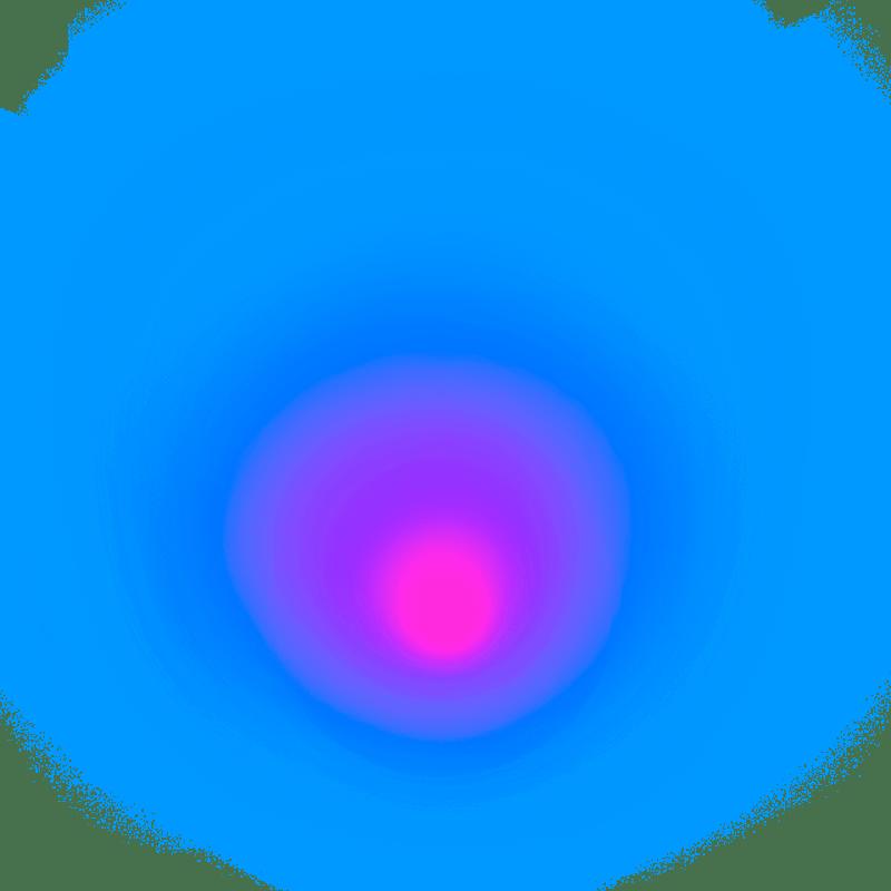Gradient Blur Neon Transparent Clipart