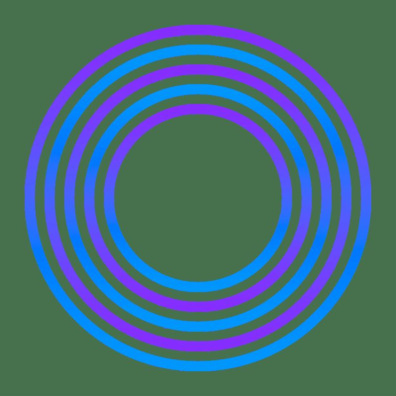 Gradient Circle Transparent Image
