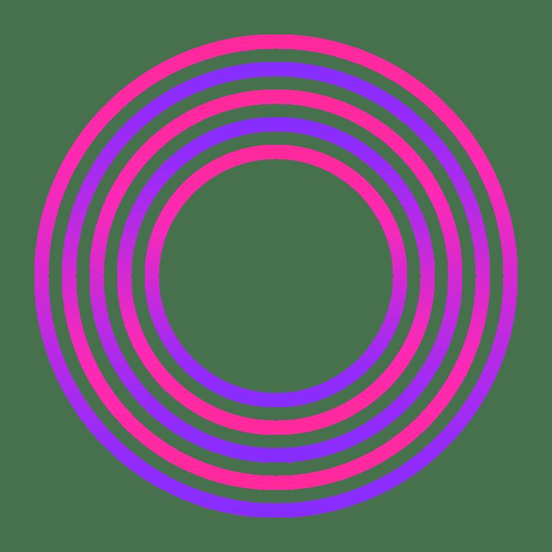 Gradient Circle Transparent Photo