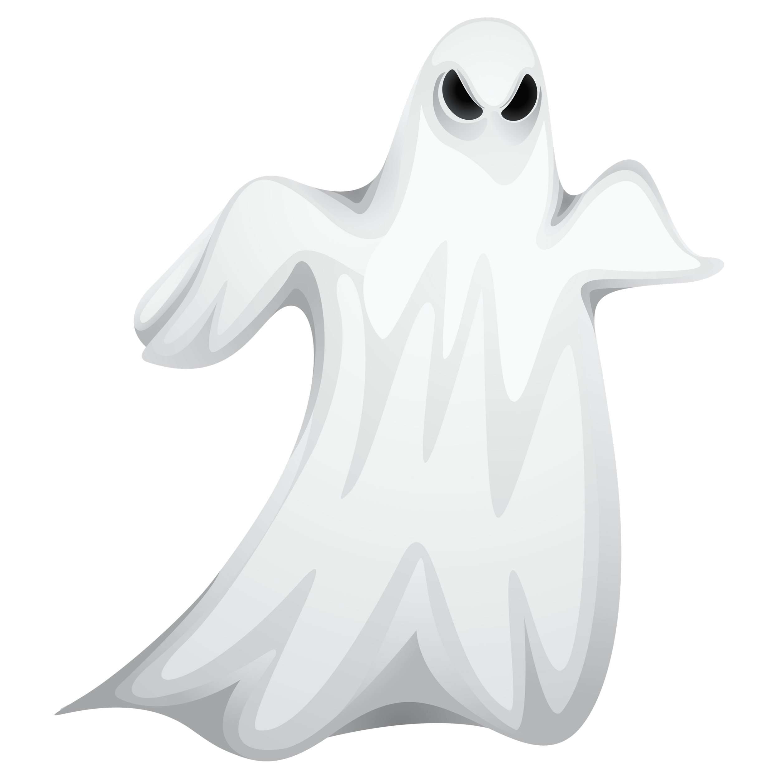 Halloween Angry Ghost Transparent Image