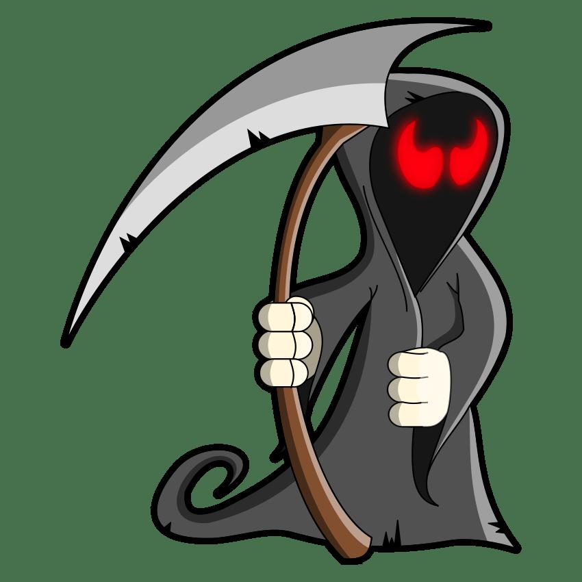 Halloween Grim Reaper Transparent Photo