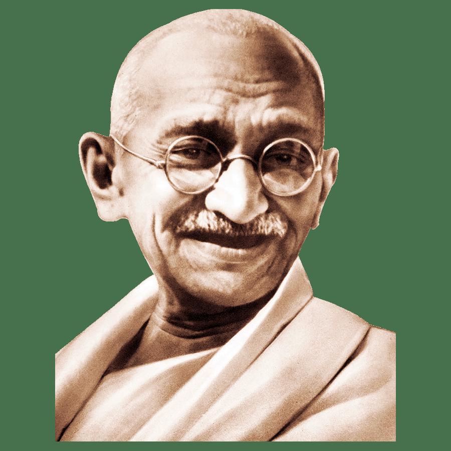 Mahatma Gandhi Transparent Image