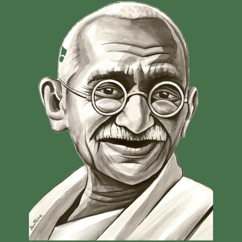 Mahatma Gandhi Transparent Photo