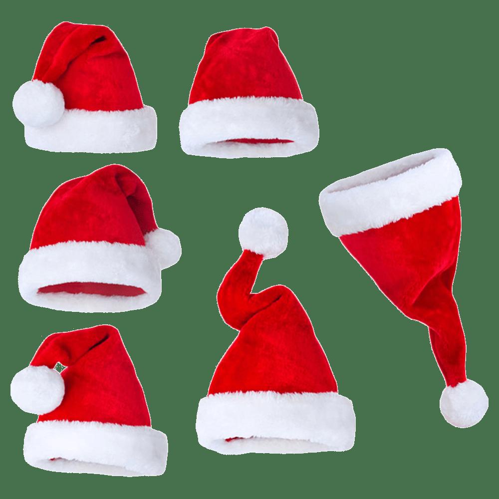 Santa Claus Hat Transparent Logo