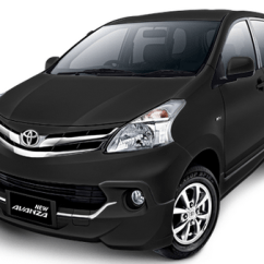 Grand New Avanza Black Cutting Sticker Png 3 Image