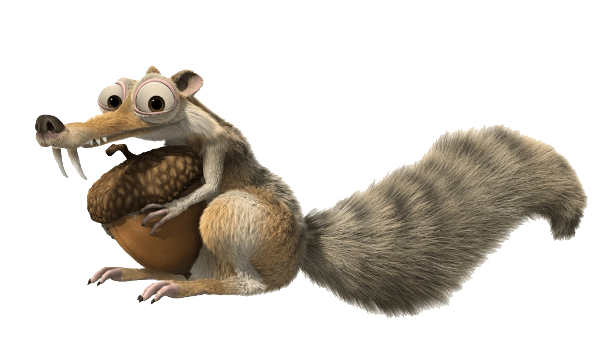 Animated Cartoon Wallpaper Ice Age Squirrel Png