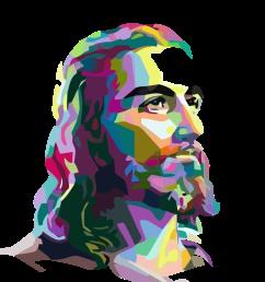 jesus christ png [ 1024 x 1024 Pixel ]