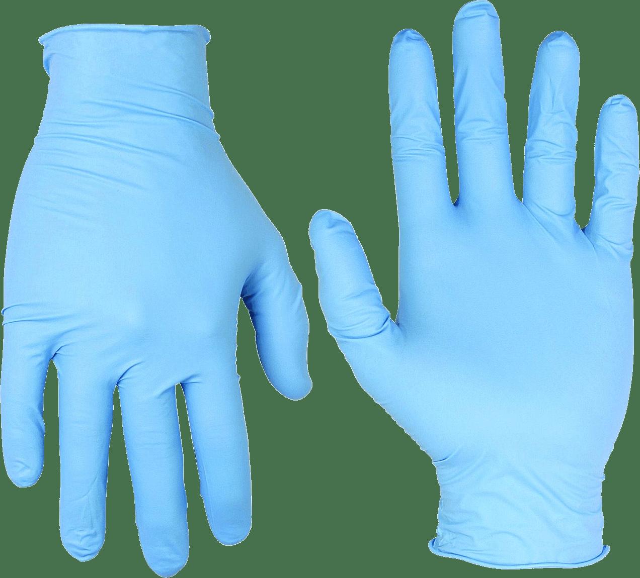 Medical gloves PNG