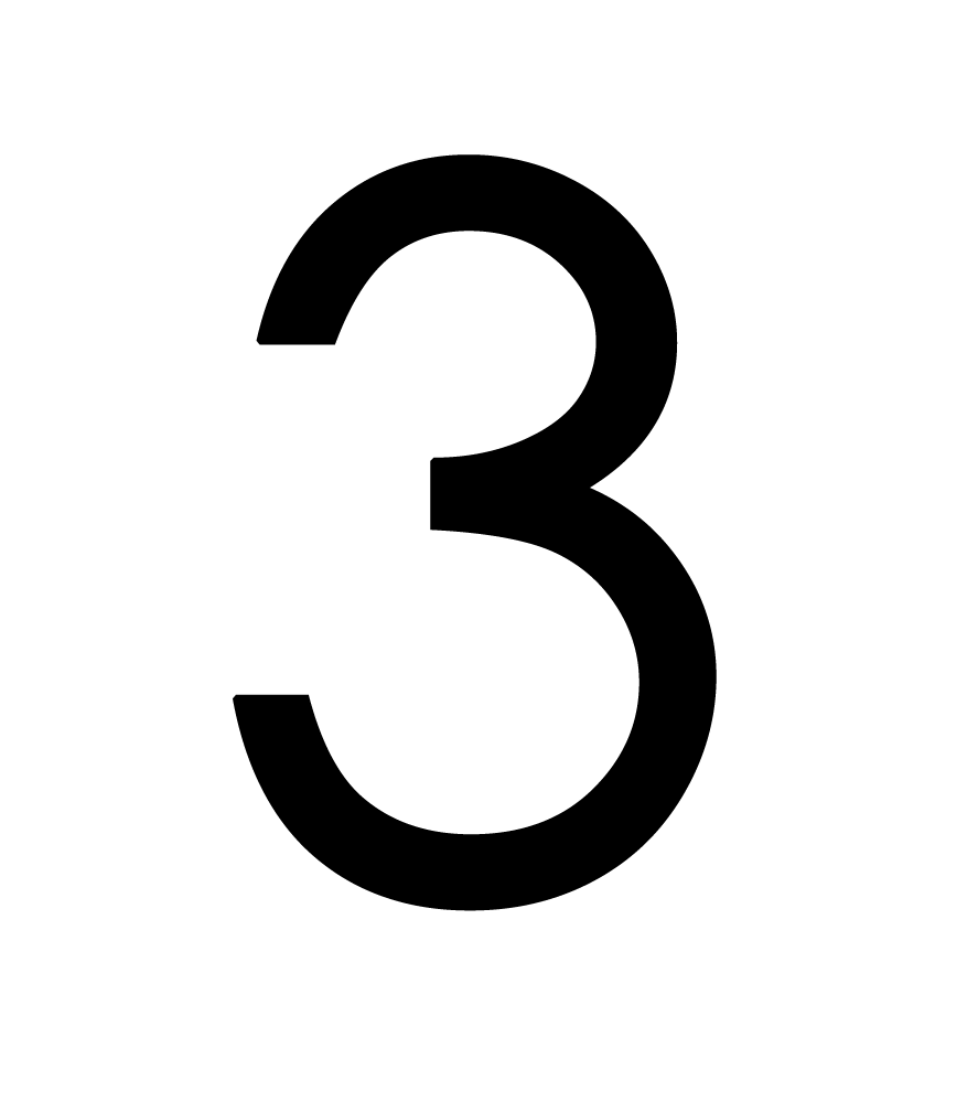 medium resolution of number 3 png