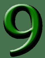 Angka 9 Png : angka, Number, Images, Download,