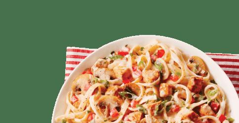 pasta alfredo noodle transparent food chicken clipart pngimg webstockreview