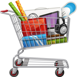shopping cart retail clipart sales transparent promotion clip types icon business solutions promotions freepngimg library purepng arts profitability boost format