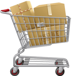 Groceries Grocery Cart Png 7