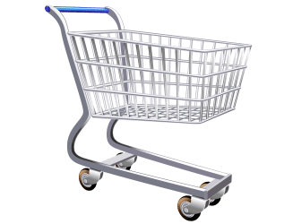 Full Grocery Cart Png 1