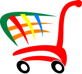 Groceries Grocery Cart Png 3