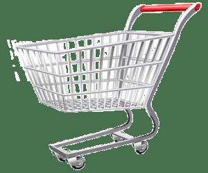 shopping cart carts transparent bag bank postage stamp pencil sharpener piggy cube paper pluspng pngimg