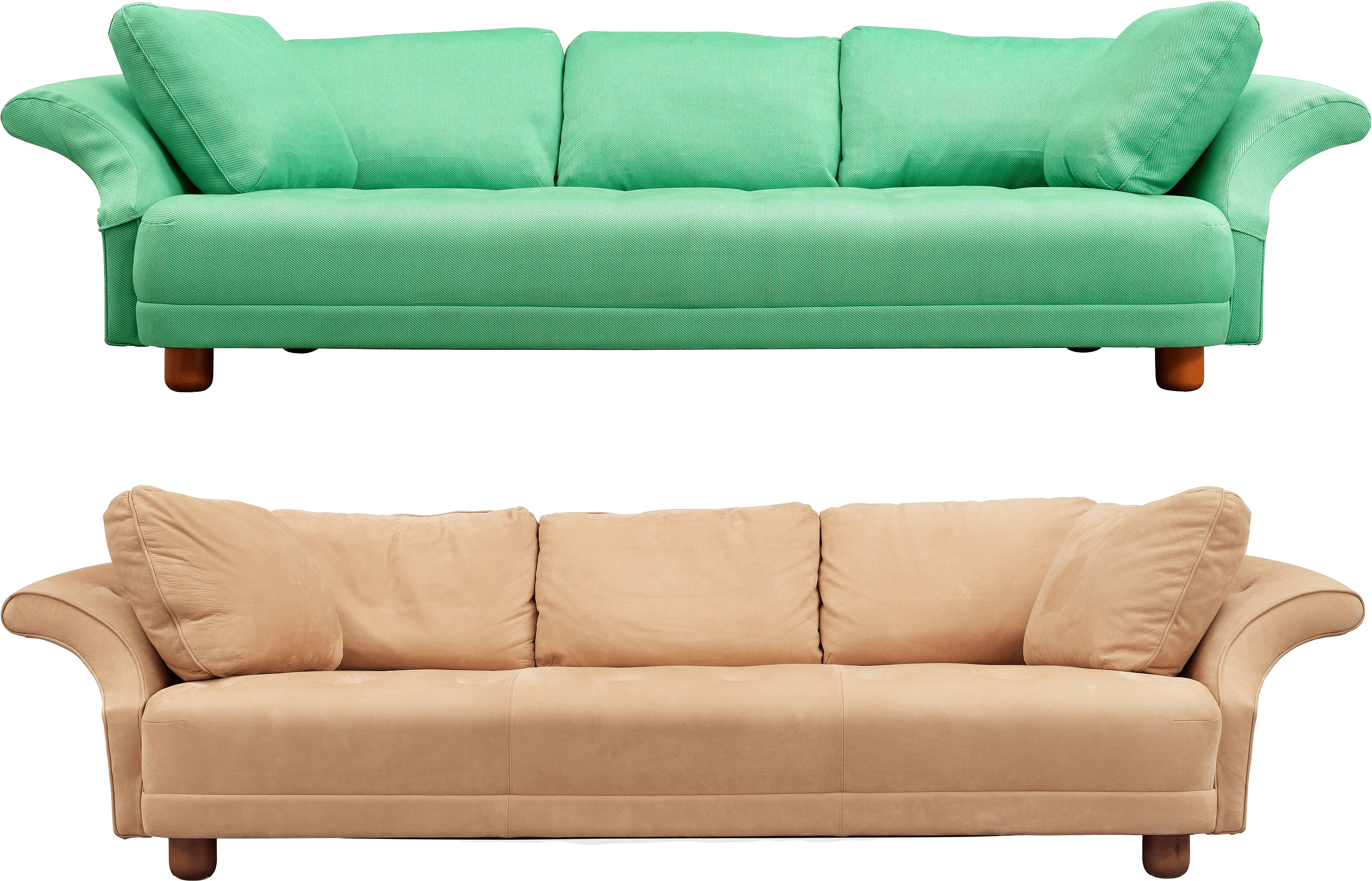 sofa set png images large brown leather bed Диван фото