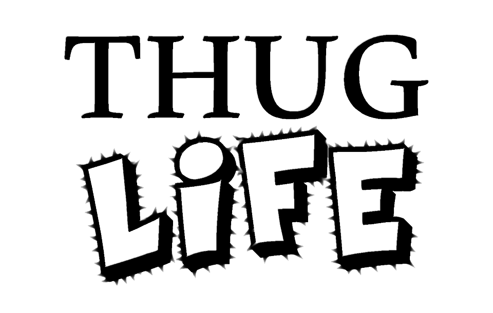 Thug life PNG images free download