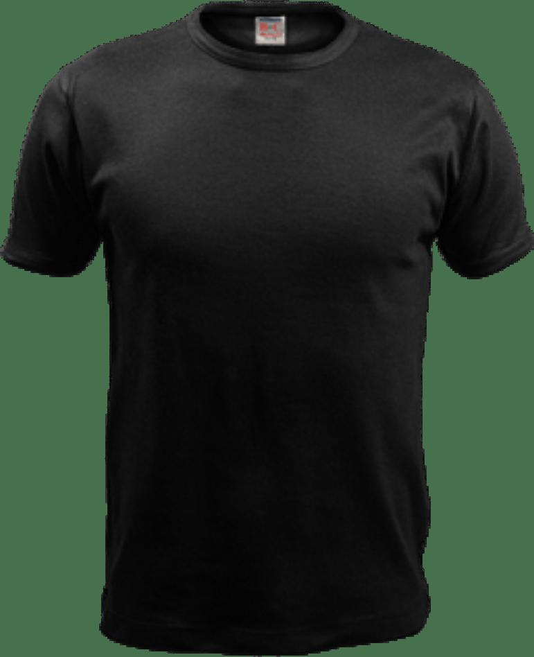 Black T Shirt Png : black, shirt, Black, T-shirt, Image