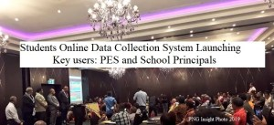 Students Online Data Collection System – Grade 8, 10 and 12