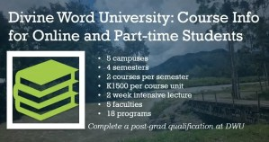 Online Courses Divine Word University