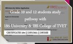 IBS University Online Application and Course Information