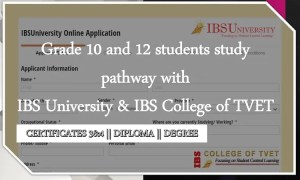 IBS University online application