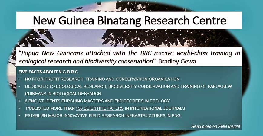 Binatang Research Centre: Study, Collaboration, Conservation