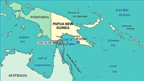 Daru Island Papua New Guinea