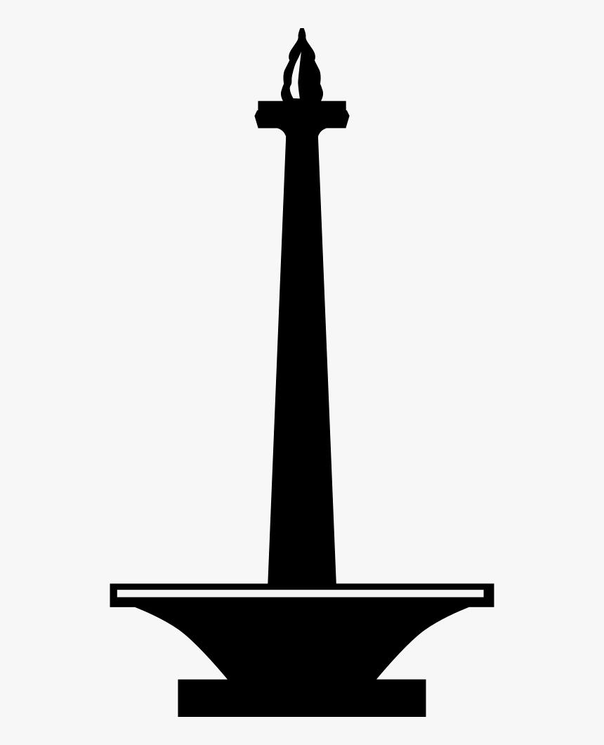 Logo Monas Png : monas, Monas, National, Monument, Vector, Transparent, Image, PNGitem