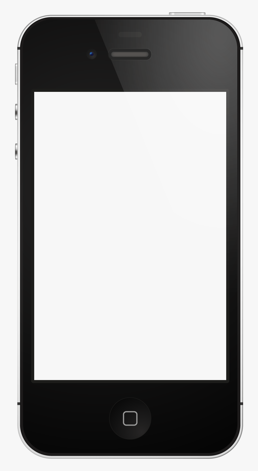Cell Phone Images Free : phone, images, Cliparts, Download, Blank, Phone, Template,, Transparent, Image, PNGitem