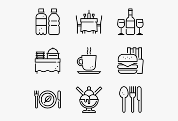 Clip Art Restaurant Menu Icon Work Icon HD Png Download Transparent Png Image PNGitem