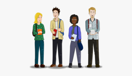 Transparent Teens Png Animated College Student Png Png Download Transparent Png Image PNGitem