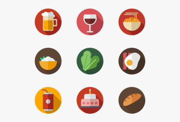 Icons Free Vector Color Food Icon Vector Png Transparent Png Transparent Png Image PNGitem